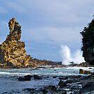 Australia Rock, Inverloch, Victoria, Australia. by johnrf
