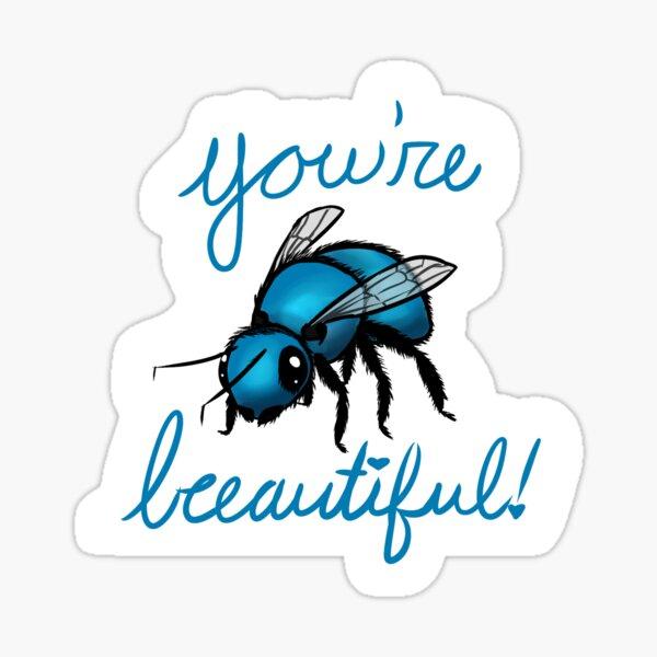 Happy Orchard Mason Bee Sticker