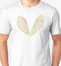 Cicada Wings in Gold Unisex T-Shirt