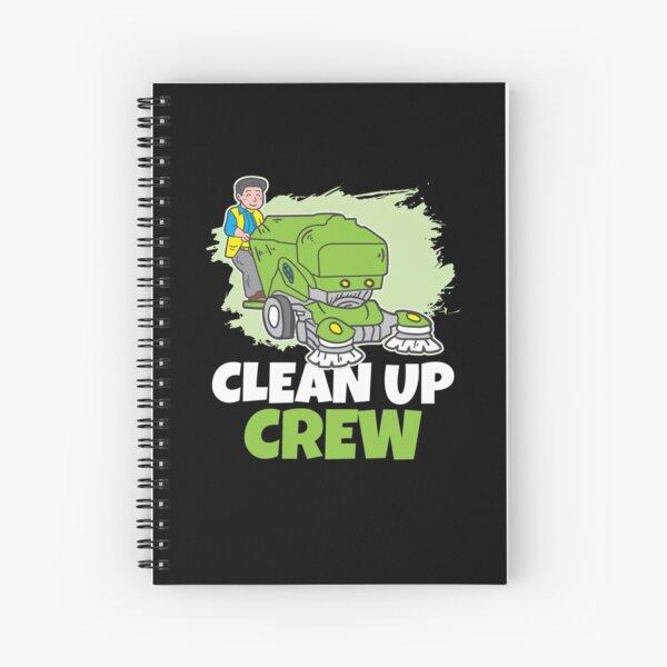 Clean up Crew Spiral Notebook