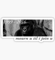Mourn U Till I Join U Sticker