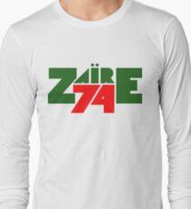 Zaire 74 '- Rumble im Dschungel Langarmshirt