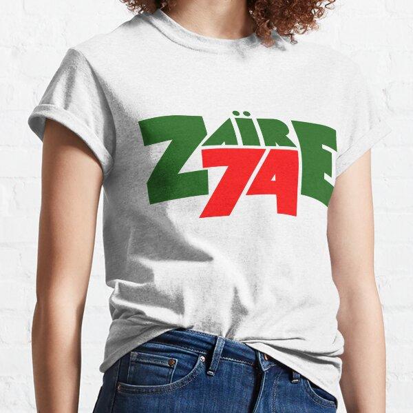 Zaire 74' - Rumble in the Jungle Classic T-Shirt
