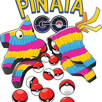 Pinata GO: Pokemon Mexican Style by stfn