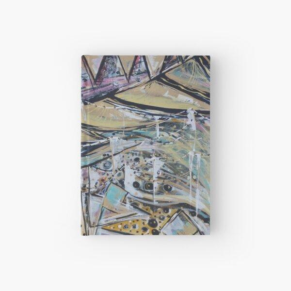 Glastonbury festival themed artwork and prints Hardcover Journal