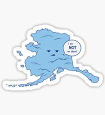 Alaska Is Misunderstood Sticker