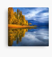 Green is Gold  Canvas Print