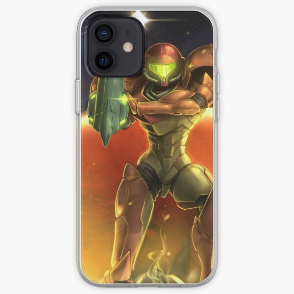 Metroid 30th Anniversary - Samus Aran iPhone Soft Case