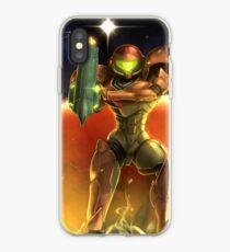 Metroid 30th Anniversary - Samus Aran iPhone Case