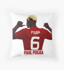 Paul Pogba - Manchester United Throw Pillow
