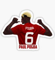 Pegatina Paul Pogba - Manchester United