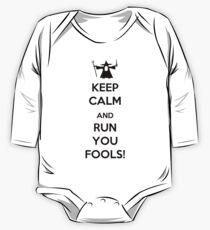 Keep Calm And Run You Fools! One Piece - Long Sleeve