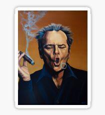 Jack Nicholson Painting Sticker