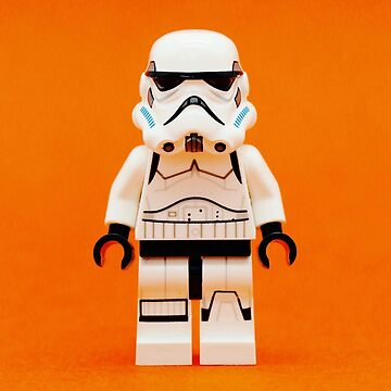 Lego Storm Trooper on Orange by EllLang