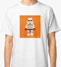 Lego Storm Trooper on Orange Classic T-Shirt