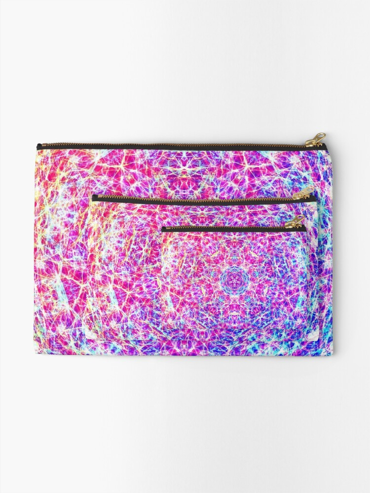 Alternate view of Giant planet Zipper Pouch