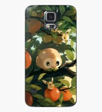 sun & moon - grass Case/Skin for Samsung Galaxy