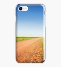 Country Road Through the Praries iPhone Case/Skin