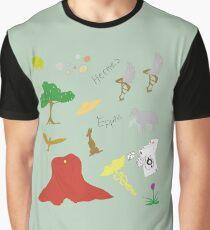 Hermes Graphic T-Shirt