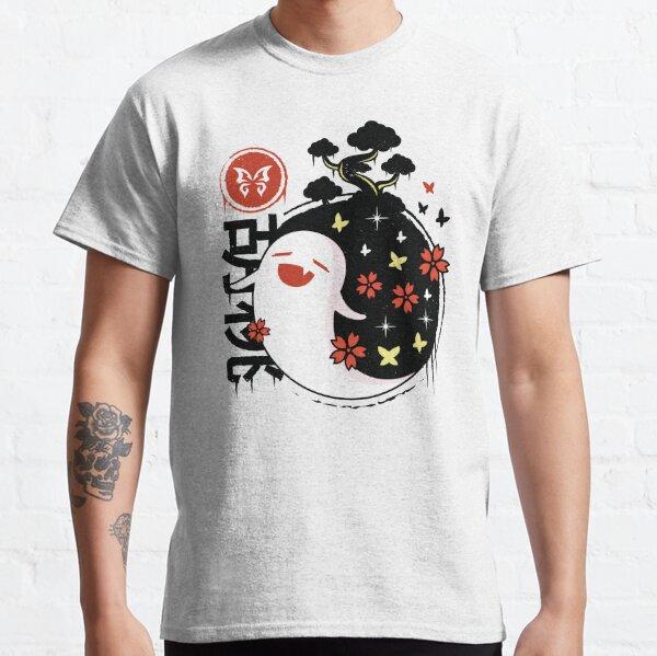 Genshin Impact Hu Tao Fantasma Camiseta clásica