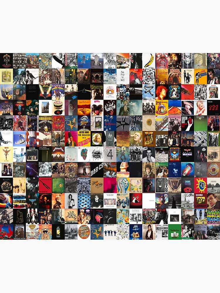 Greatest Rock Albums Collage by IvankaSmith