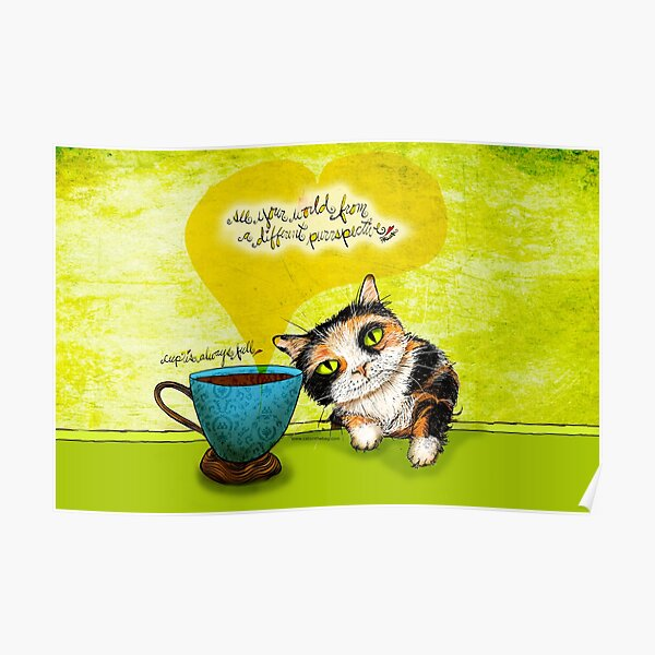 What my #Coffee says to me July 9, 2016 Poster