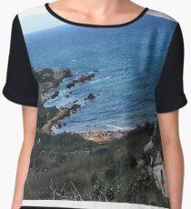 Seaside View Women's Chiffon Top