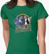 Jack and Sam's Excellent Adventure Womens Fitted T-Shirt