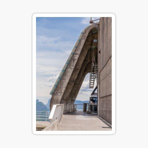 Cable car station - Sugarloaf Mountain - Rio de Janeiro Sticker
