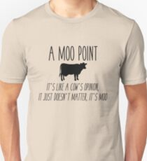 Friends - Moo Point Unisex T-Shirt