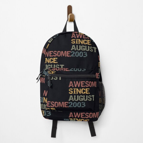 awesome since august 2003 Backpack