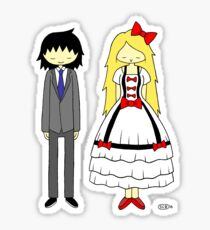 Shrewd and Savvy Formal Outfit Sticker