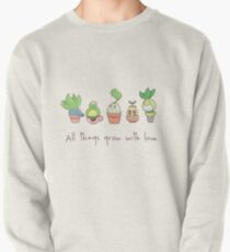 ALL THINGS GROW WITH LOVE Pullover