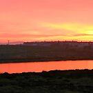 Sunset Outside Stornoway von BlueMoonRose