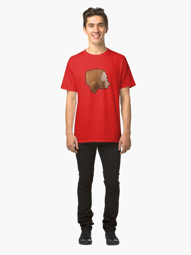 Alternate view of Monkey Socks Design Logo Classic T-Shirt