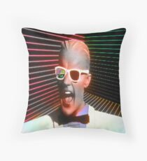 Welcome to the Cafe 80's Throw Pillow