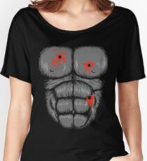 Harambe Halloween Costume - Shot Gorilla Chest Women's Relaxed Fit T-Shirt