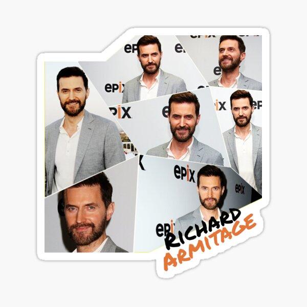Richard Armitage - Mosaic  Sticker