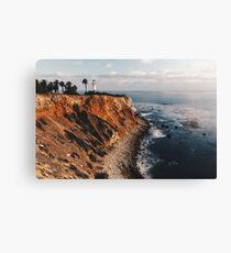 Point Vincent Lighthouse - California - Color Canvas Print