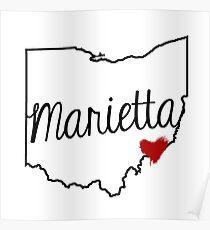 Heart Marietta Poster