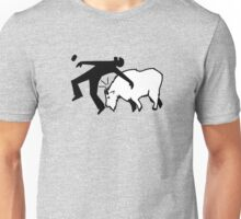 Mountain Goat Ramming Unisex T-Shirt