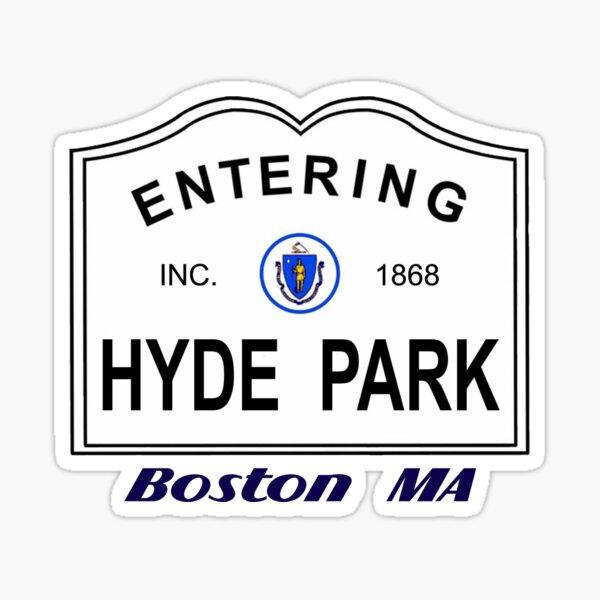 Hyde Park - Boston MA Sticker