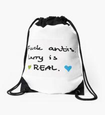 Fuck antis Drawstring Bag