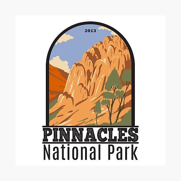 Pinnacles National Park California Photographic Print