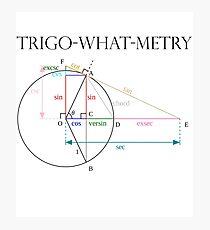 Trigonometry? Photographic Print