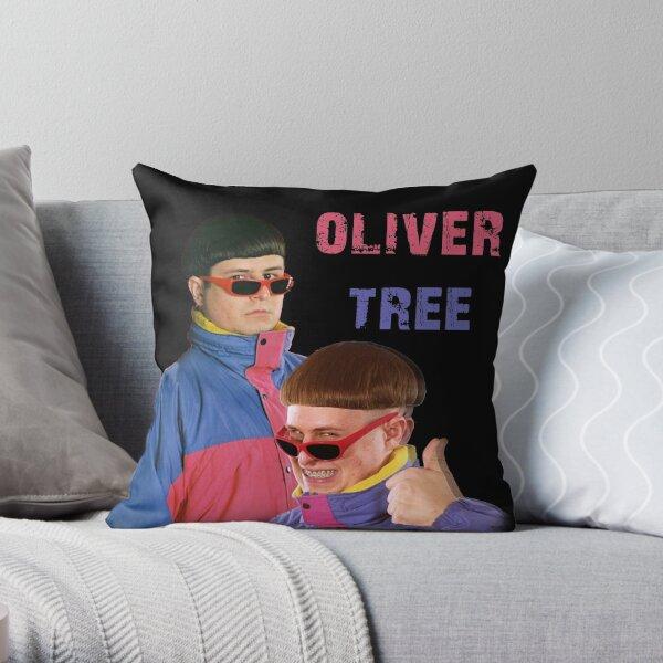 oliver tree Throw Pillow