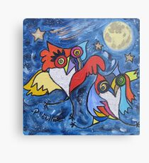 THE CHOUETTES BALL Metal Print