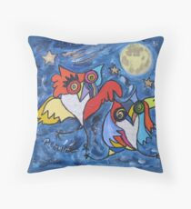 LE BAL DES CHOUETTES Throw Pillow