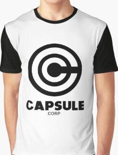 capsule corp black logo Graphic T-Shirt