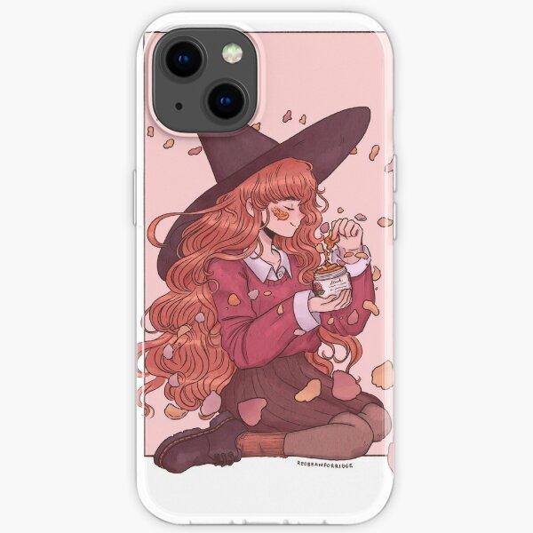 Magic Rose Facemask iPhone Soft Case